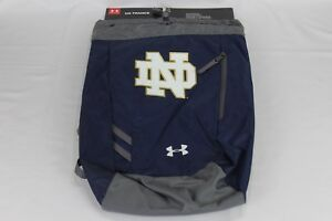 NEW UNDER ARMOUR UNIVERSITY OF NOTRE DAME FIGHTING IRISH TRANCE SACKPACK