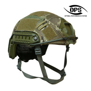 OPSUR-TACTICAL COMBAT COVER FOR OPSCORE FAST HELMET IN CRYE MULTICAM-LXL