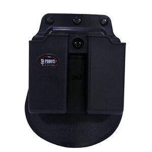 Fobus 4500NDP Double Mag Pouch Single Stack 9mm.45  Sig 35740 (Paddle)