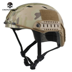 EMERSON Tactical Helmet Airsoft FAST BJ Type Hunting Bike Headwear Durable Army