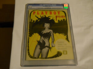 February 1954 Playboy Magazine V1 #3 CGC 9.2 Off-white to white pages