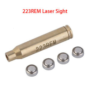 223REM Bore Brass Coppery Red Laser Sight Boresight 635-655NW 30mm For Outdoor