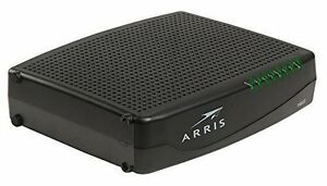 OPTIMUM COMCASTXFINITY APPROVED! ARRIS TM804G DOCSIS 3 PHONE MODEM WBATTERY