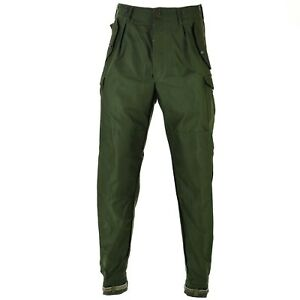 Genuine Swedish army pants M59 combat trousers military green NEW