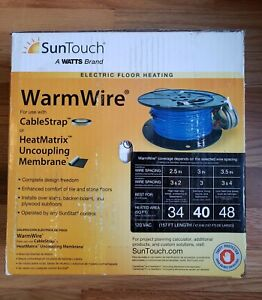 SunTouch WarmWire 40 sq. ft. Radiant Floor Heating Wire 81014501-NEW