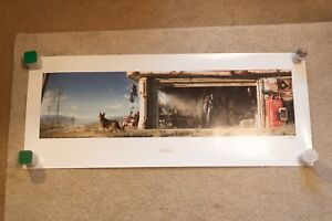 Fallout 4 Limited Edition Garage Lithograph NUMBERED #94500 37