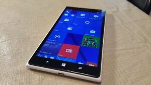 Nokia Lumia 1520 - 16GB - White (Unlocked) Smartphone- 20 MP Rear Camera