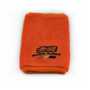 1PC Racing MUGEN Orange Car Tank Cover Oil Catch Tank Cover Cap Sock for Honda