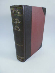 Pacific Press Publishing Association BIBLE READINGS FOR THE HOME CIRCLE NEW 1916