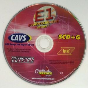 CHARTBUSTER KARAOKE ESSENTIAL 450 VOL1 ES450 COLLECTOR'S EDITION SUPER CD+G E1