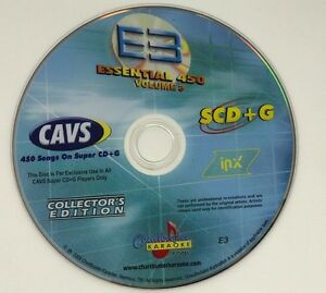 CHARTBUSTER KARAOKE ESSENTIAL 450 VOL 3 ES450 COLLECTOR'S EDITION SUPER CD+G E3