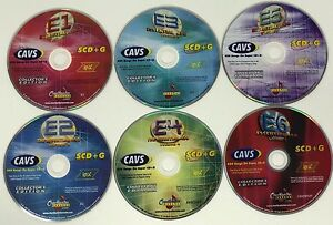 CHARTBUSTER KARAOKE ESSENTIAL 450 VOL 1-6 ES450 COLLECTOR'S EDITION SUPER CD+G