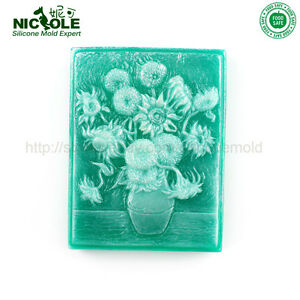 New Rectangle Soap Molds Silicone Fondant Cake Mold DIY Silicone Molds For Soap