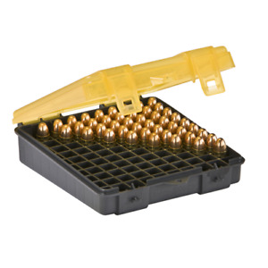 Plano 122400 Handgun Ammo Storage Case Holds 100 Count 9mm380 ACP Pistol Rounds