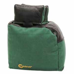 Caldwell 445389 Bench Bag Magnum Extended Rear Bag Filled Leather Green New