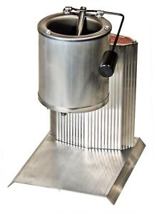 Lead Melting Pot With Bottom Opening Spout For Pouring - Casting Production New