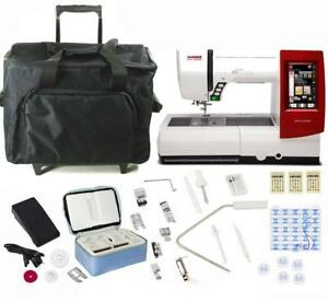 Janome Horizon Memory Craft 9900 Sewing and Embroidery Machine With Exclusive
