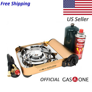 GAS ONE Premium Dual Fuel Camping Stove and Regulator GS 4000P