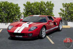 Ford GT -- 2006 Ford GT  3747 Miles Red Coupe 5.4L Manual