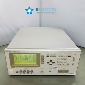 HP 4285A Precision LCR Meter 75 kHz to 30 MHz-Opt:001