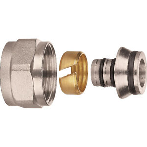 12mm  EUROCONE CONNECTOR for UFH manifold 12mm x 1.6mm x 10  Multi pex pipe   $31.26