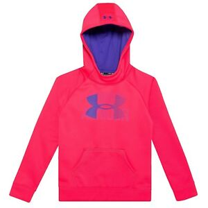 Under Armour Coldgear Storm Big Logo Hoodie Youth Girls size S M L  XL