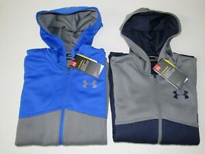 Under Armour Coldgear Storm AF Loose Fit Full Zip Hoodie Jacket Boys Youth L XL