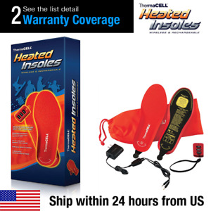NEW Genuine Thermacell Wireless Remote Heated Insoles Medium Large XLarge XX-L