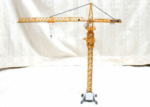 Scale 150 Construction Metal Steel Tower Slewing Crane DIECAST Model #1132