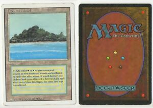 1x Tropical Island NM-Mint English 3rd Revised MTG Magic Dual Land High Res Scan