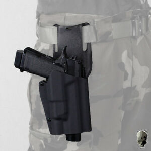 TMC Pistol Holster Competition Speed  X300 Light-Compatible For GBB Glock Camo