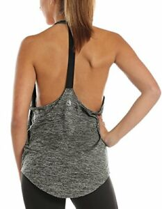 Stylish Sexy Cute Workout Athletic T-Back Running Yoga Tank Top Shirt for Women