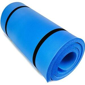 Crown Sporting Goods : Mat Yoga And Exercise Thick 1