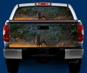 DEER HUNTING Tailgate OR Window Truck Tailgate Wrap Vinyl Graphic Decal Wrap