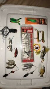 Bass Lot. High End Lures. All New. MolixstormBooyahect