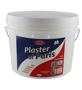 Plaster of Paris - ideal for making moulds casting and sculpting 10kg bucket