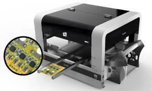 Perfect Accuracy Pick and Place Machine Neoden4 with 40 feeders+Stencil Printer