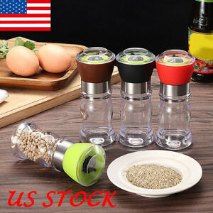 Manual Stainless Steel Salt Pepper Grinder Spice Mill Kitchen Cooking Tools