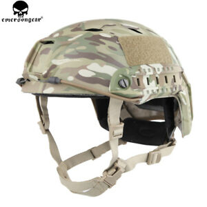 BJ Type Tactical Fast Helmet Adjustable Combat Hunting Wargame Hiking Cycling