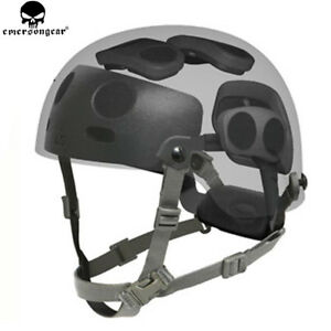 Emerson Tactical Military Helmet Dial Liner Kit For OPS-CORE MICH FAST Helmets