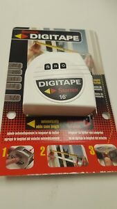 Starrett Digital Measuring Tape 16#x27; Made in the USA C $34.99