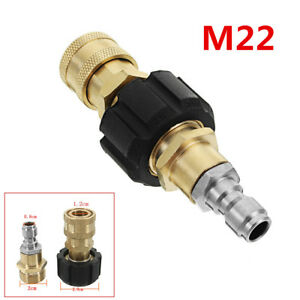 Durable M22 Thread Connector To Quick Release For Foam Lance & Pressure Washer