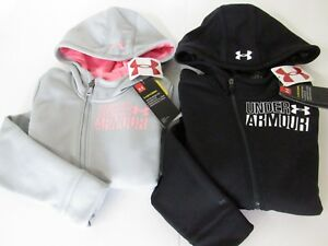 Under Armour ColdGear STORM Asymmetrical  Zip Hoodie Youth Girls Pick Sz