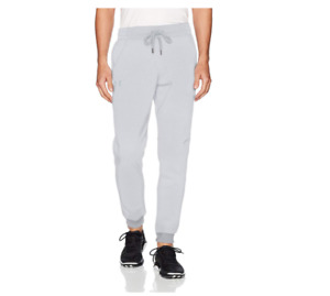 NWT UNDER ARMOUR UA MENS COLD GEAR RIVAL FLEECE GRAY JOGGER SWEAT PANTS 3XL NEW
