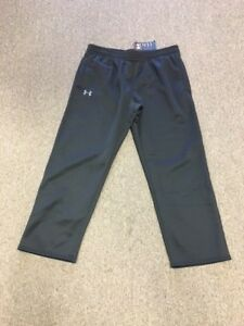 New Men's Under Armour Performance Black sweatpants size 2XL Fast Shipping!