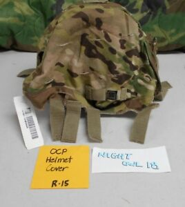 NEW OCP Multicam Cover Helmet ACH W IR Tabs and WENVG LargeXLarge R15