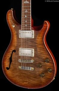 PRS McCarty Semi Hollow 594 Wood Library Autumn Sky (532)