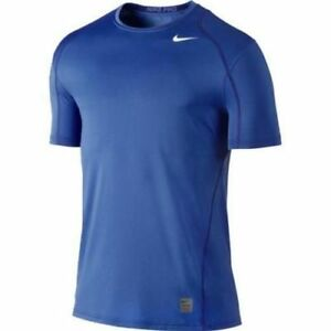 Nike Pro Cool Fitted Men's XXLTT Tall Tall Dri-FIT T-Shirt 703104-480 Royal Blue