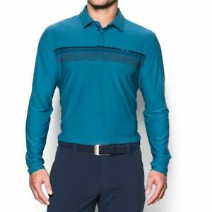 Under Armour Men's Playoff Long Sleeve Golf Polo - Choose SZColor