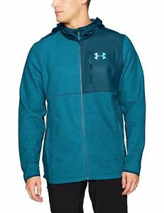 Under Armour Mens Coldgear Infrared Fleece Heavy Full Zip Hoodie